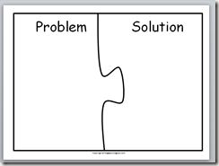 Problem and solution and Templates on Pinterest