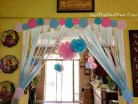 Gender Reveal Party: Pink and Blue Gender Reveal Streamer ...