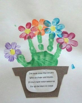 Cute idea for a springtime project with the kids or a Gift For Mother's Day! #spring #crafts #kids https://www.facebook.com/TheThriftyCouple: