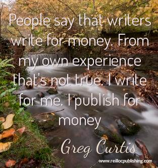 Write for yourself, publish to make a living.: