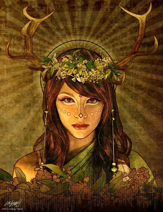 The Goddess Mother Earth Mother Nature By Charlie