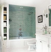 Bathtub shower combo, Contemporary bathtubs and Bathtub ...
