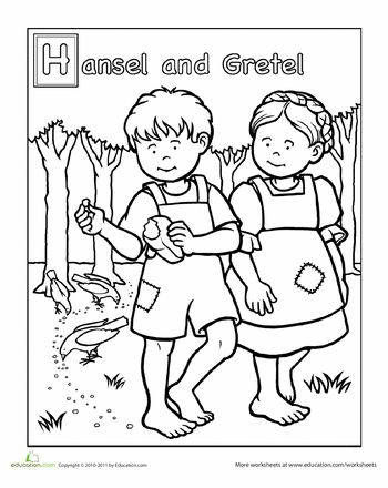Preschool, Coloring and Fairy tales on Pinterest