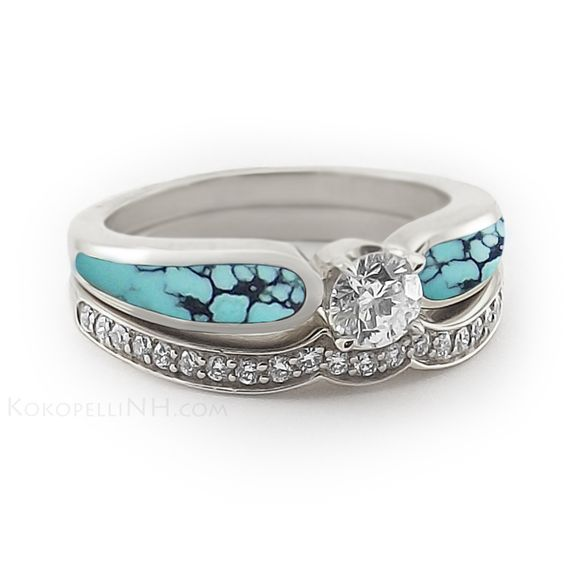 Nice Chinese Wedding Ring With Sky Radiance  Wedding Ideas  Pinterest  Turquoise Wedding and