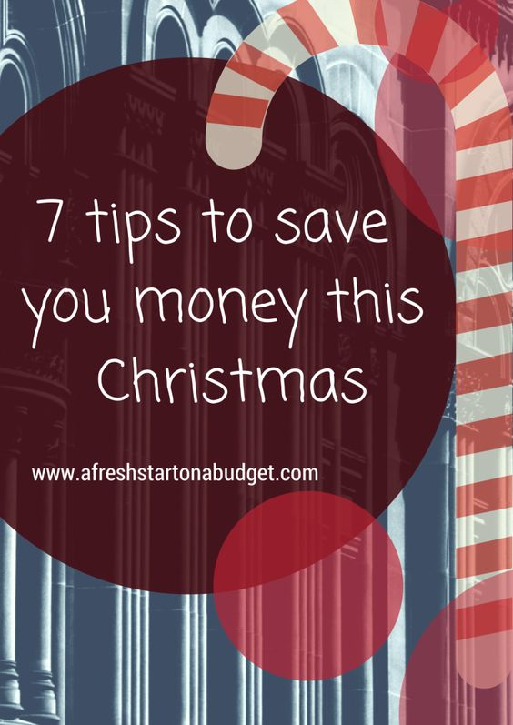 The Earlier you start thinking about saving money for Christmas the better off your family will be during the holidays. So click through to the post for 7 ways to save money this Christmas: