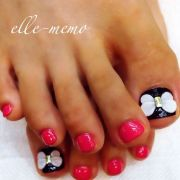 butterfly toe nail ideas and design