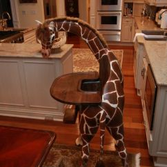 Baby Eating Chair How To Reupholster Dining Room Chairs Coolest High Ever - Kids Furniture | My Love Of Giraffes Pinterest Kid ...