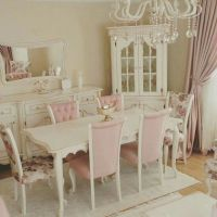 Pastel, Shabby chic chairs and Shabby chic dining on Pinterest