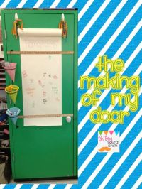 Oh' Boy 4th Grade: the making of an interactive door | 3rd ...