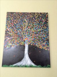 Fun things to paint | Finger painting | Pinterest | Trees ...