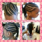 little girls braided mohawk