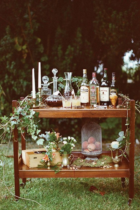 Wine cart Inspiration and Cigars and whiskey on Pinterest
