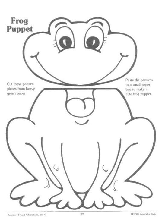 Puppets, Paper bag puppets and Frogs on Pinterest