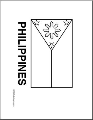 Philippines flag, Flag country and Research report on