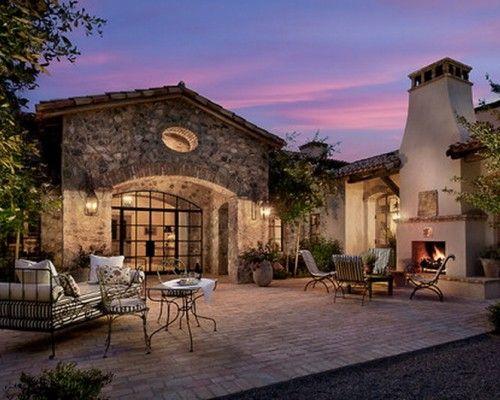 Tuscan Style Backyard Landscaping