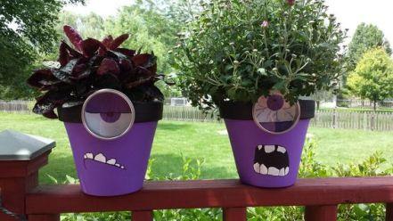 idee per decorare il giardino in occasione della festa di Halloween
