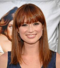 Cute bangs. Ellie Kemper. | Hair | Pinterest | Her hair ...