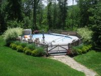 Pictures of, Backyards and Ground pools on Pinterest