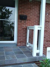 front porch slate tiles :) | Outdoors | Pinterest ...