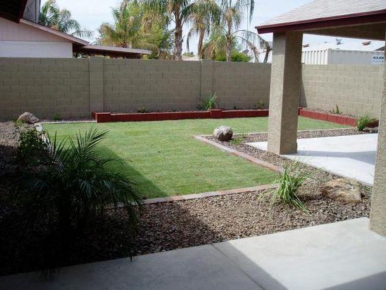 desert landscaping backyard ugly