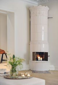 Swedish fireplace   interior design   Pinterest ...