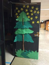 Camping theme classroom door! A class full of star campers ...