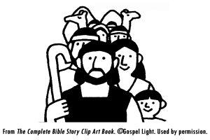 I02_God Calls Abram lesson, crafts, activites, also see