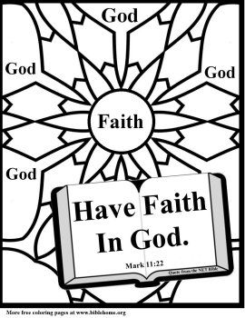 Bible (Christian) Coloring pages for sunday school
