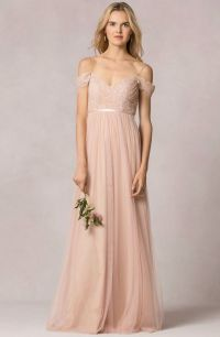 """Leighton"" bridesmaid dress in lace/tulle by Jenny Yoo"