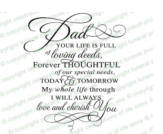 Inspirational Quotes : Dad Pre Designed Script Elegant