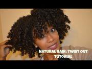 natural hair twist tutorial