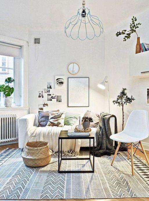 Aménager un petit salon avec 7 astuces: