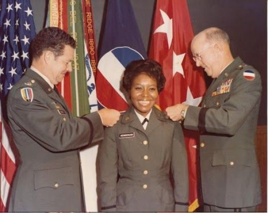 Women in the U.S. Army: On July 8, 1974, Reverend Alice M. Henderson became the first woman to officially serve in the U.S. Army Chaplain Corps. She was sworn in at U.S. Army Forces Command (FORSCOM) at Fort McPherson, GA and served in the military for 13 years. Women chaplains today serve in all capacities and are valued members of The U.S. Army and the Chaplain Corps.:
