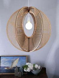 Sustainable Flat-Pack Timber Chandeliers by Loz Abberton ...