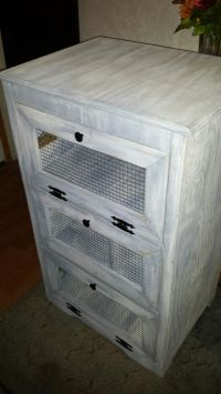 Potato Bin and storage cabinet