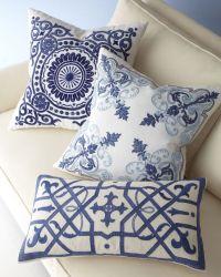 Blue Kaleidoscope Pillow | Pillows, Accent Pillows and ...