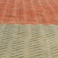 Stains, Colors and Brick pavers on Pinterest