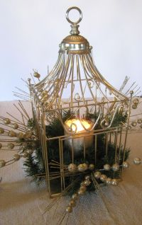 Bird cages, Centerpieces and Birds on Pinterest