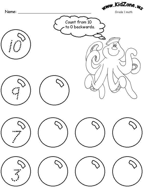 Pre k worksheets, Worksheets for preschoolers and Ocean on