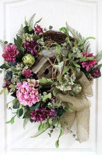 Country wreaths, Front door wreaths and Door wreath on ...