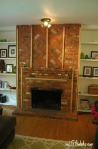 Drywall, Brick fireplaces and Fireplaces on Pinterest