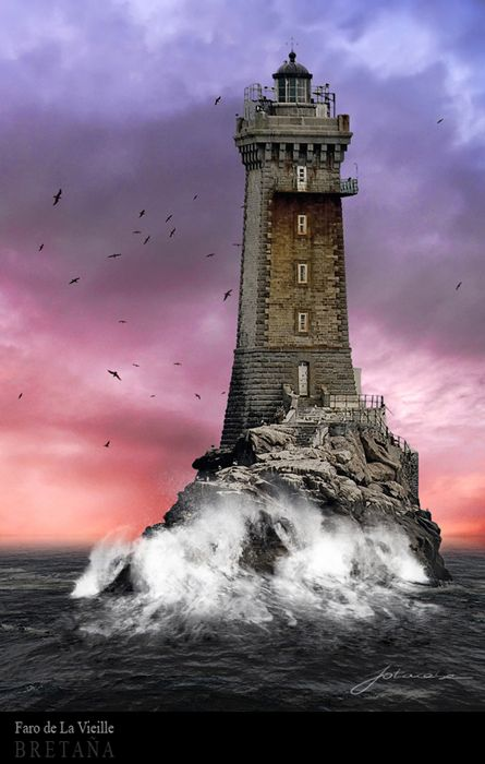 ~~El viejo faro ~ Faro Lighthouse, Brittany, France by Juan Carlos Balbas~~: