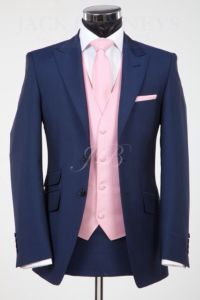 Blue and, Pink and Groomsmen on Pinterest