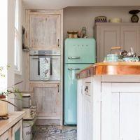 Διακόσμηση: ψυγείο smeg για την κουζίνα