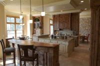 Ware, Kitchen photos and Stone accent walls on Pinterest