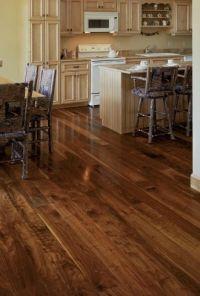 Walnut Wide Plank Floor - Dark Wood Flooring and Hardwood ...