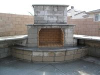 Fireplaces, Outdoor fireplaces and Outdoor fireplace plans ...