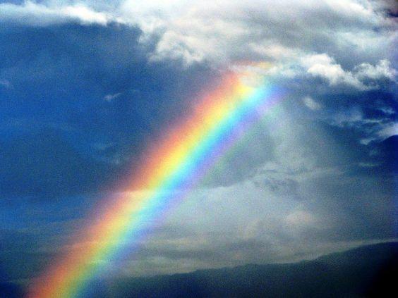 Gambar Pelangi Saat Hujan  Beautiful Rainbows  Pinterest