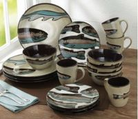 Dinnerware sets, Trout and Dinnerware on Pinterest