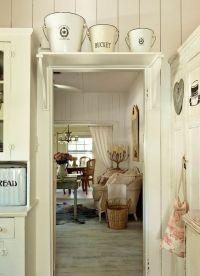 Kitchen Door Shelf Whitewashed Cottage chippy shabby chic ...